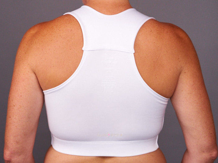 white hugfit bra Heart & Core   Post-Surgical and Radiation Bras