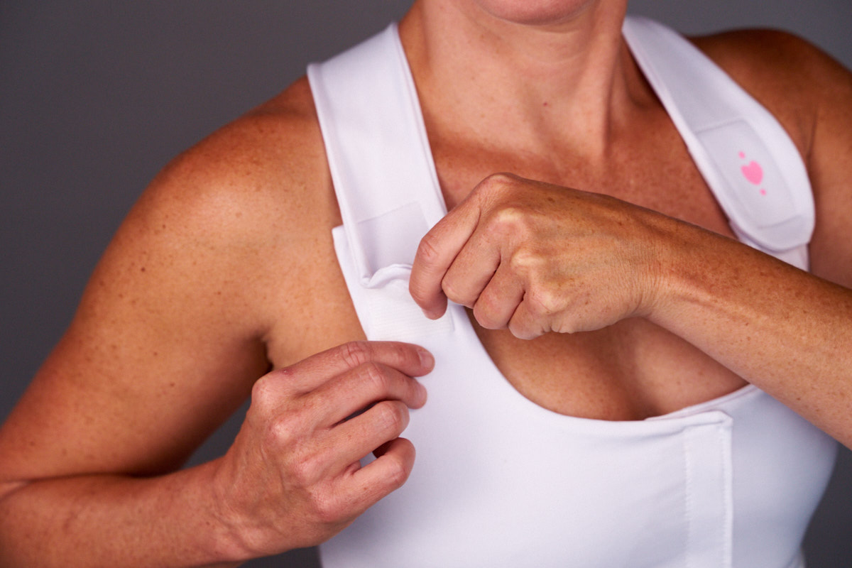 Medical-grade Velcro: Heart & Core   Post-Surgical and Radiation Bras
