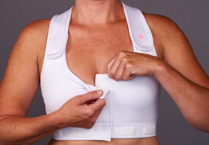 Medical-grade Velcro: Heart & Core | Post-Surgical and Radiation Bras