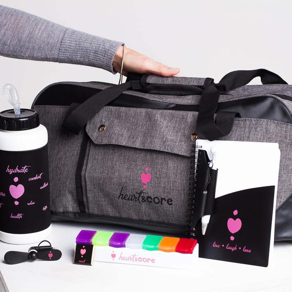 Comfort bag: A gift of support Heart & Core | Post-Surgical and Radiation Bras