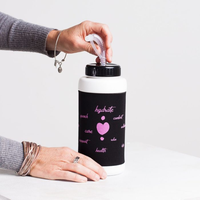 Heart & Core water bottle | Post-Surgical and Radiation Bras