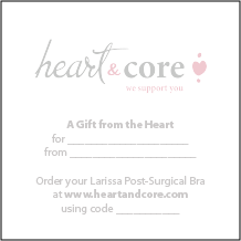Heart & Core | Post-Surgical and Radiation Bras